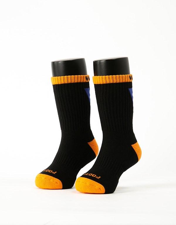 做自己運動氣墊襪-童