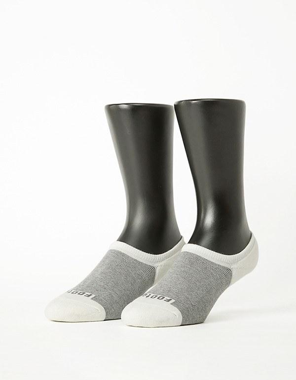 細條紋拼接船短隱形襪