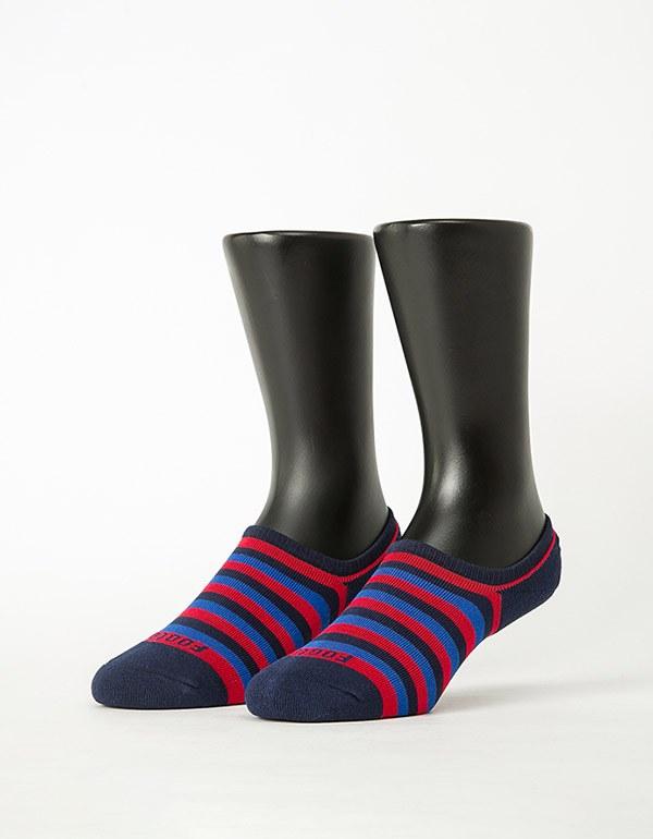 五線譜船短隱形襪