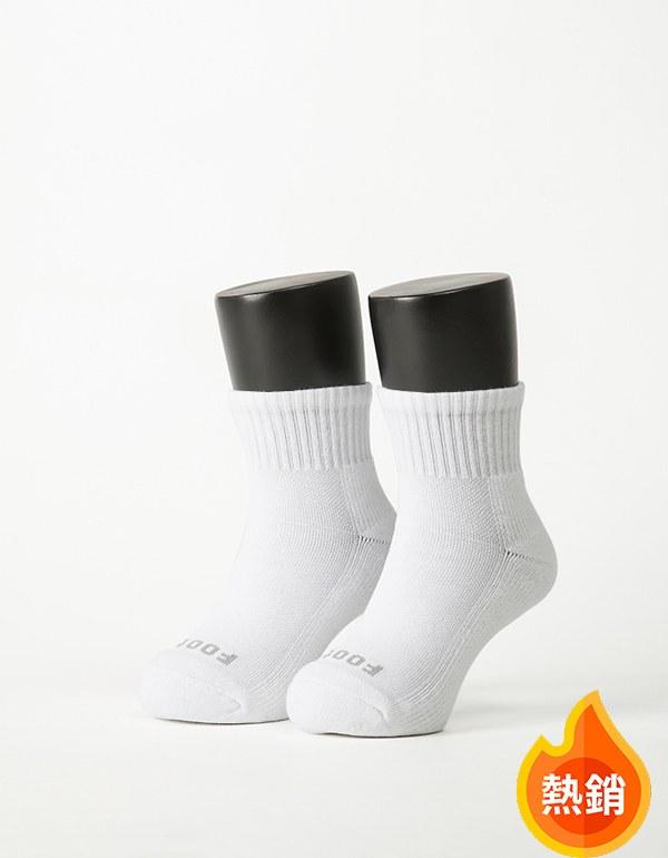 單色運動輕壓力襪