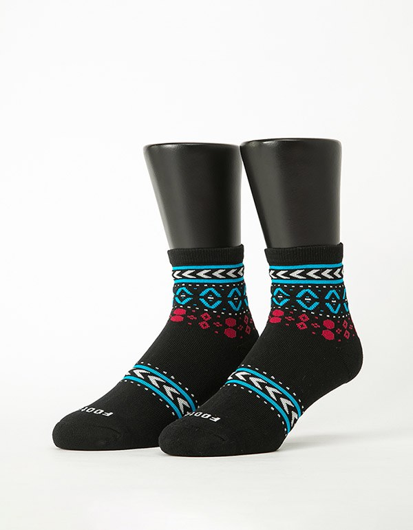 民族圖騰微分子薄襪