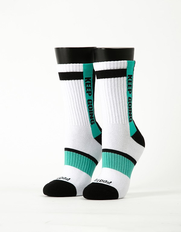 天生贏家運動氣墊襪