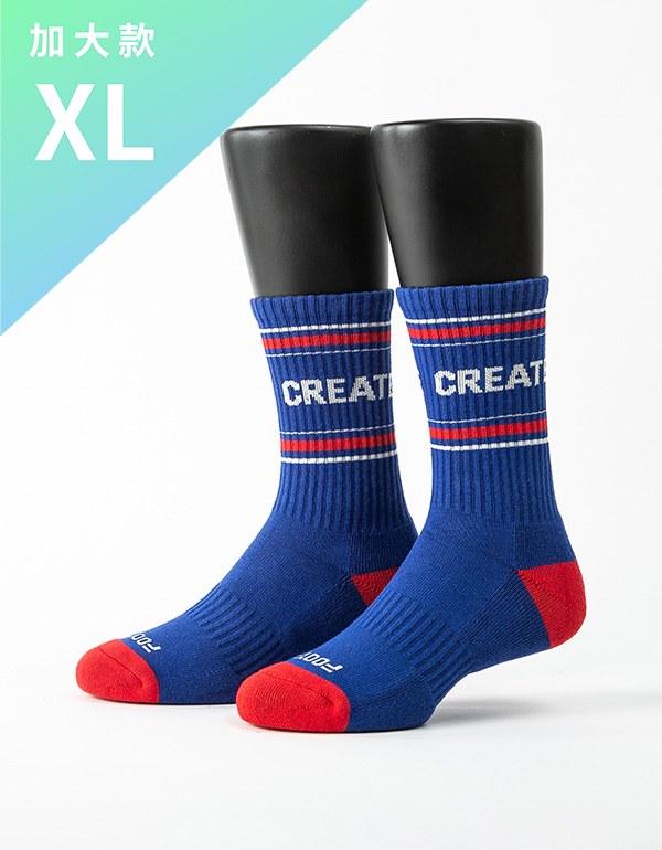 突破界線運動氣墊襪