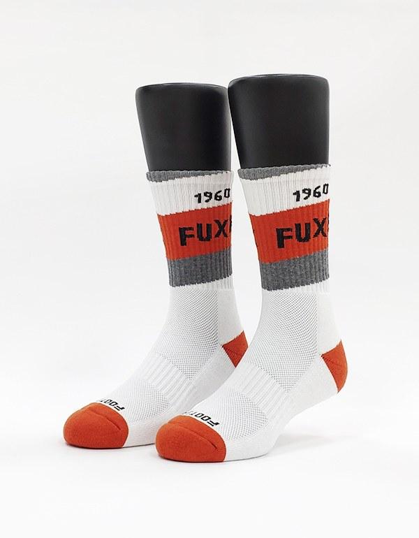 放克人生運動氣墊襪