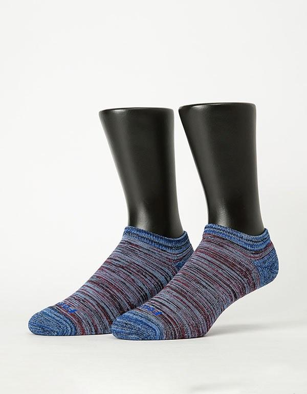 特-流線拼接氣墊船短襪