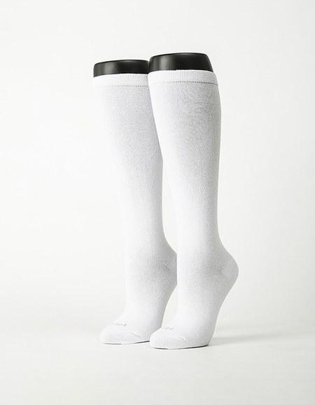 學生中筒長薄襪