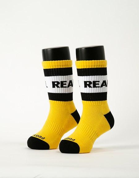 率性自我運動氣墊襪-童
