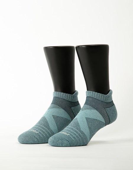暖陽麻花輕壓力足弓船短襪