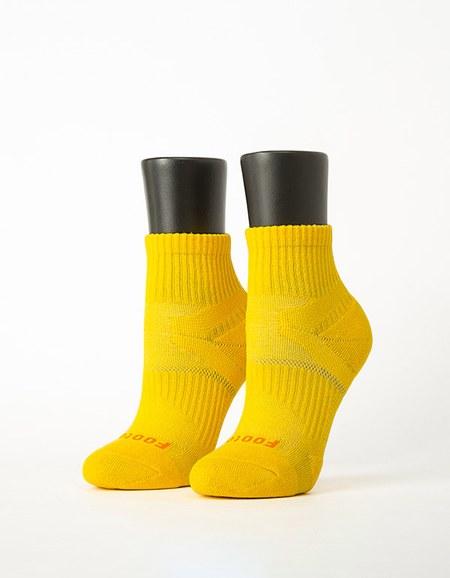 輕壓力單色足弓襪