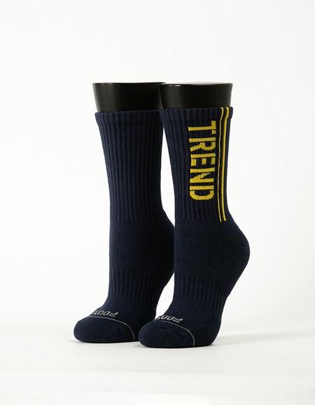 流行先驅運動氣墊襪