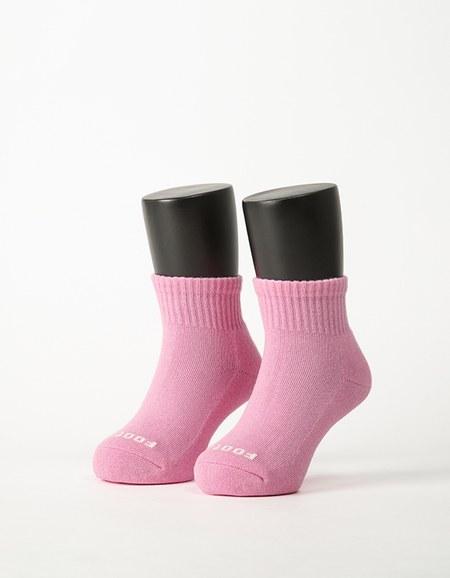 單色運動氣墊襪