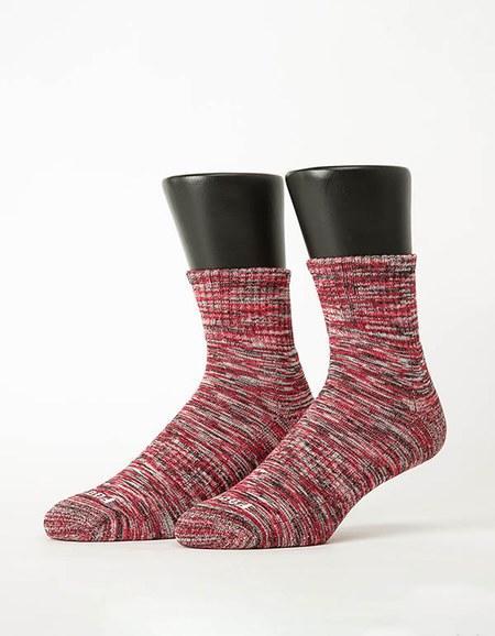 混色潮流氣墊襪