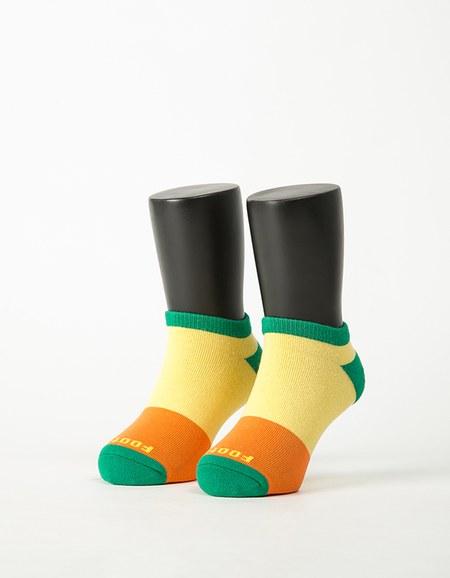 三色混搭兒童船短襪